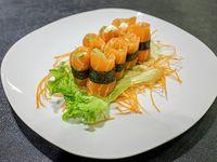 Geishas salmón (8 piezas)