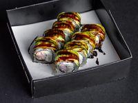Uramaki caterpillar (8 piezas)