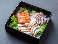 Tabla sashimi moriawase (15 piezas)