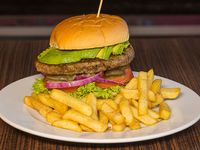 Buffalo burger off