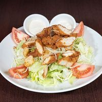 Cesar salad crispy chicken