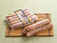 Chorizo artesanal con jalapeños