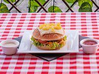 Sándwich Especial De Pollo Gratinado
