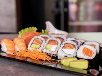 Combinado salmón 24 piezas