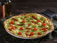 Pizza Pesto E Tomate Seco