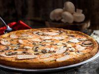Pizza Pollo E Champiñones Súper