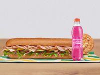 Combo Sándwich Pechuga de Pavo 30 cm