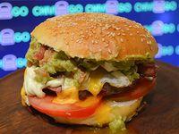 Hamburguesa guaca