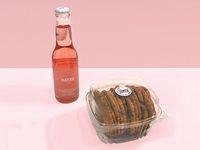 Caja de cookies + Jugo orgánico D`Cada 350 ml