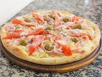 Pizza fugazzeta especial