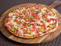 Pizza sabor americano (22 cm)