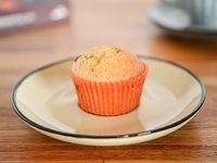 Muffin vainilla con dulce de leche