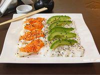 Ensalada de sushi (salmón)