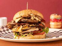 Kiss Burger (Doble Pollo)