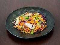 Chow Mein de Pollo y Camarón