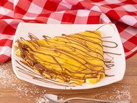 Crepe de Banano y Nutella
