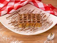 Waffle Básico de Nutella