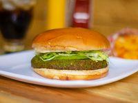 Hamburguesa Vegetariana de Falafel