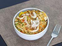 Fried rice con pollo