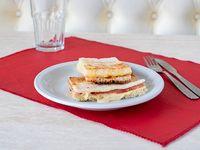Sándwich tostado de jamón y queso SIN TACC