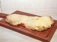 Milanesa napolitana de carne con guarnición