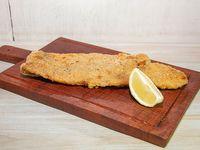 Filet de merluza al horno con guarnición