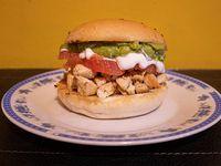Promo - Sándwich de pollo + 2 ingredientes