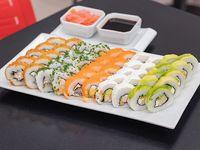 Promo sushi - Piezas mixtas (50 piezas)