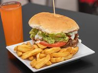 Promo 2 - Churrasco italiano + papas fritas + bebida
