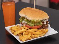 Promo 2 - Churrasco italiano + papas fritas + bebida