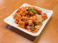 Tofu agridulce