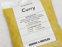 Salsa Curry #CrepeEnCasa