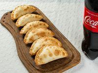 Promo primavera - 6 empanadas + Coca-Cola 1.25 L