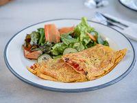 Super omelette Ramona con ensalada