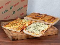 Promo - Medio metro de pizza muzzarella + 1/4 de fainá