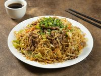 Chow mein con carne