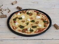 Pizza con Pesto