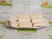 Sándwich triple jamón y queso