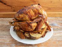 Promoción - Pollo entero + Papas rústicas 600 g