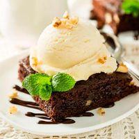 Promo Brownie con Helado
