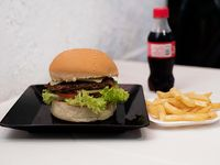 Hamburguesa Clásica en Combo