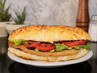 Sándwich de súper milanesa
