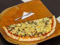 Pizza  Mitad Plain Queso