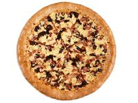 Pizza Mediana Especial Ciruela Bacon