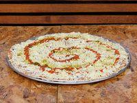 Pizza Familiar Pollo Champiñones
