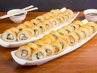 Promoción - 40 piezas hot rolls