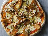 Pizza Pera y Queso Azul Co