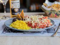 Enchilada rojas (3 unidades)