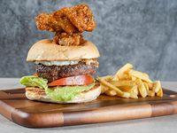 Maxi wing burger
