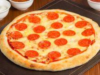 Pizza pepperoni  familiares(38 cm)